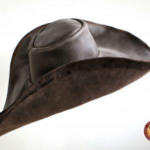 Sombrero de cuero modelo Alatriste