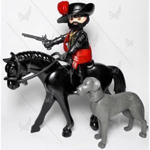 Gran Duque de Alba a caballo