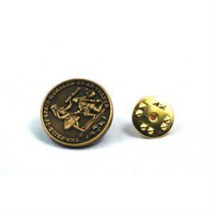 Pin cara moneda Lezo