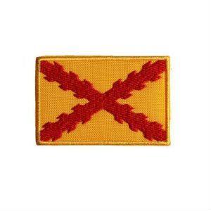 """Bordado """"Bandera de Felipe II"""", con Cruz de Borgoña"""