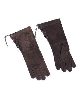 Guantes cuero largos para hombre