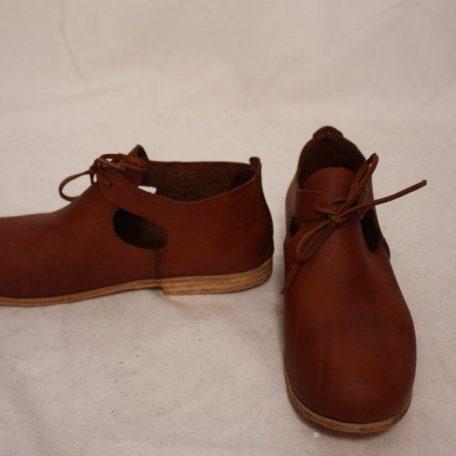 Zapatos hombre tercios siglo XVII
