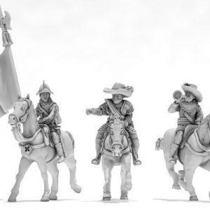 TE Grupo de Mando a caballo