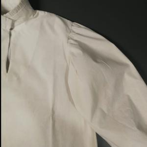 Camisa de época cuello lechuguilla