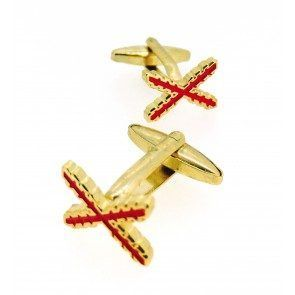 Gemelos «España Antigua» con Cruz de Borgoña.