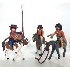 Pack Dragón de Cuera con Indios a caballo