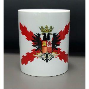 Taza bandera de los Tercios de Flandes