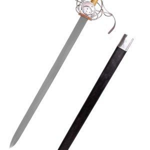 Espada ropera de conchas. Pappenheimer,S XVII (decorativa)