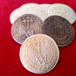 8 reales de 1687