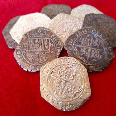 8 Reales de Potosí 1650 (macuquinas )