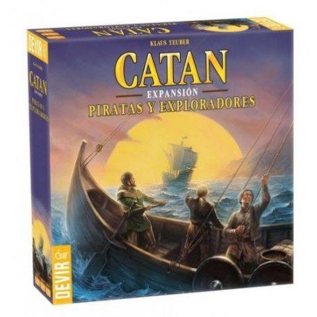 catan piratas exploradores