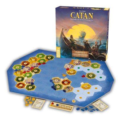 Catán piratas y exploradores