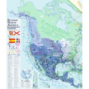 Mapa de la España Norteamericana