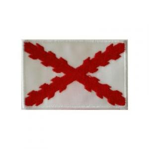 """Bordado """"España Antigua"""" con Cruz de Borgoña (Velcro)"""